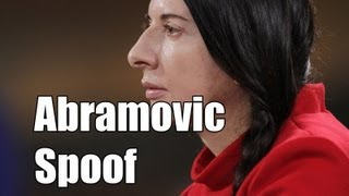 Marina Abramović Spoof (The Wind Is Present ) (VEDA 2013 - Day 19)