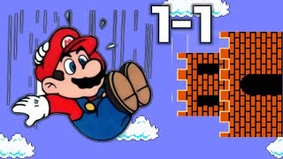 What If Super Mario Bros 1-1 Was SIDEWAYS? (Super Mario Maker 2)