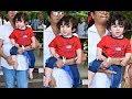 Kareena Kapoor Son Taimur Ali Khan Cute At Airport