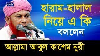 Bangla Waz | সুদ ও ঘুষ এর পরিণতি | By Mawlana Abul Kashem Nuri | 2017