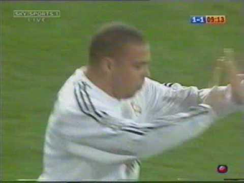 Ronaldo Vs Celta Vigo 28-2-04