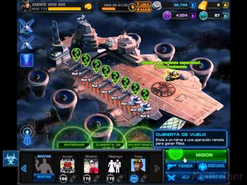 Marvel Avengers Alliance - Tips para sacar Comand Points