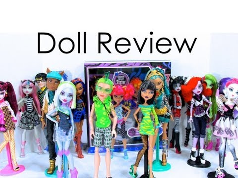 Doll Collection Review : Monster High Update