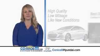 Consider a Certified Pre-Owned Hyundai from Conicelli Hyundai