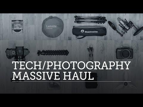 MASSIVE Photography Equipment / Tech Haul