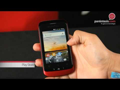 Celular Alcatel ONE TOUCH MIX 918