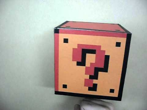 "Un ""Question Block"" de Super Mario en la vida real"