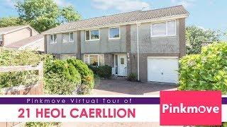 Pinkmove Virtual Tour of 21 Heol Caerliion