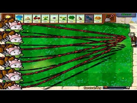 Plants vs Zombies 241 Giants Plant Cattail Hack 100% Popcap vs Zombie
