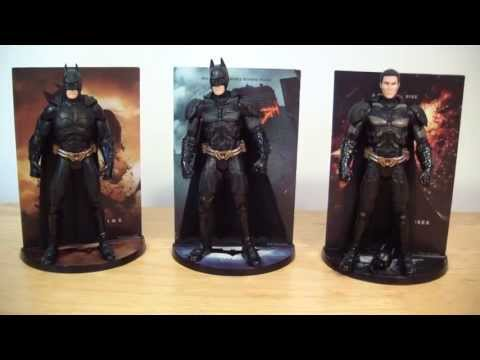 Movie Masters Batman Trilogy 3 Pack Figure Review