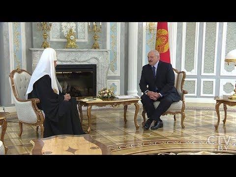 О чём говорили Президент Беларуси и Патриарх Кирилл на заседании Священного Синода
