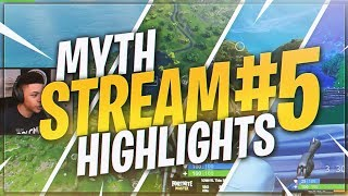 TSM Myth - STREAM HIGHLIGHTS #5 (Fortnite Battle Royale)