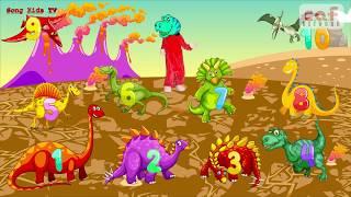 Ten Little Dinosaurs   Nursery Rhymes & Kids Songs   Song Kids TV