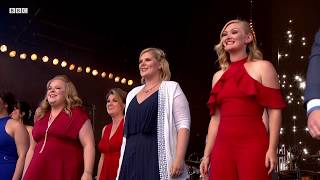 Rock Choir With Crowd Flashmob Dancing In The Street Proms In Hyde Park 2018