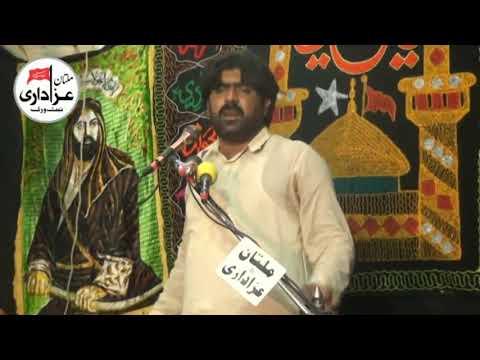 Zakir Rizwan Haider Qayamat I Majlis 25 Zilhaj 6 Sep 2018 I Alang Dolat Gate Multan I