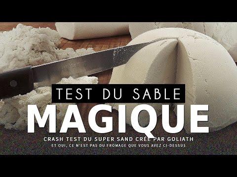 CRASH TEST : Sable Magique (Kinetic Sand)