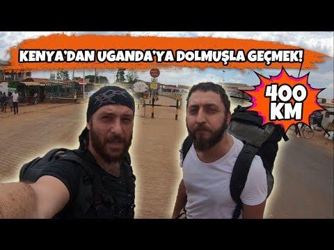 Kenya'dan Uganda'ya Dolmuşla Geçmek! ( Doğu Afrika 7.Bölüm )