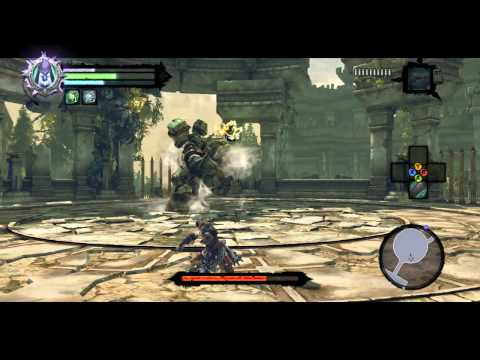 Darksiders 2 Walkthrough   How to beat the Construct Hulk (The Nook Boss Guide)