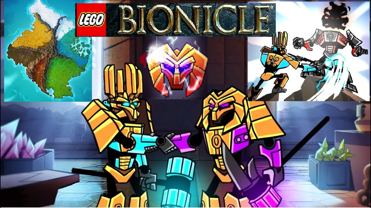Lego Bionicle 2015 Trailer The Legend Of Ekimu Amp Makuta