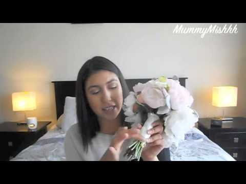 WEDDING WEDNESDAY   SILK FLOWER BOUQUET REVIEW