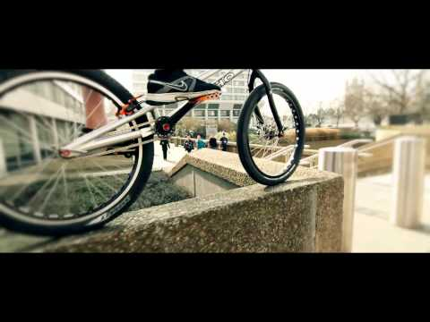 Stunt cyclist delivers Premium Rush style