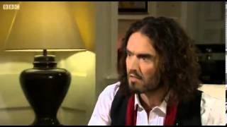 Russell Brand with Jeremy Paxman BBC on why he avoids conventional politics