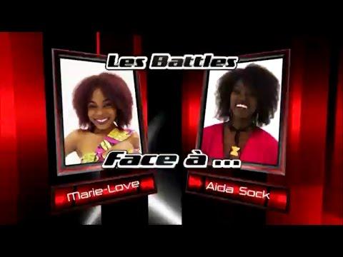 Marie Love vs Aida Sock - Na GODE (Les battles   The Voice Afrique francophone 2016)