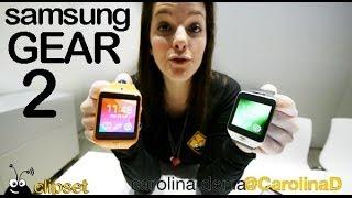 Samsung Gear 2 preview #MWC14 Videorama