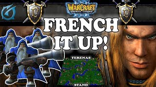 Grubby | Warcraft 3 TFT | 1.30 | HU v HU on Terenas Stand - French it up!