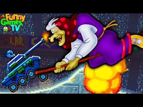 Новое видео для детей игра как мультики машинки АТАКА БАБЫ ЯГИ тачки гонки игра Drive AHEAD
