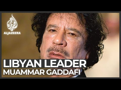Muammar Gaddafi: Obituary video