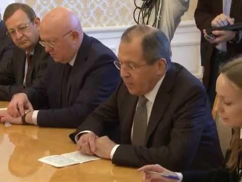 С.Лавров с делегацией ВФТП | Sergey Lavrov & WCF delegation