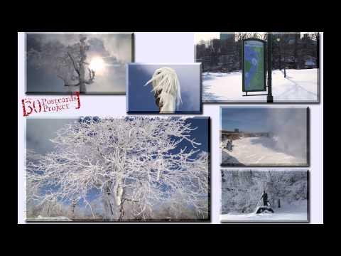3 Minute Postcard: Frozen Niagara Falls