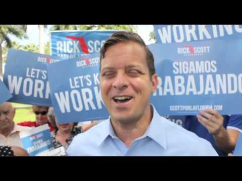 Carlos López Cantera vota hoy en 1er día de votación anticipada en Miami