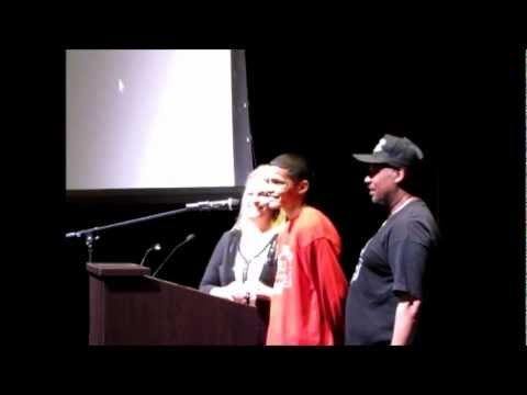 Change Reality Show, Speaking at Maricopa High School 4-4-12