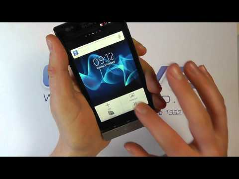 Sony Xperia P (LT22i) Unboxing