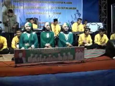WALI SONGO  Group Rebana Sragen - KH MA'RUF ISLAMUDIN