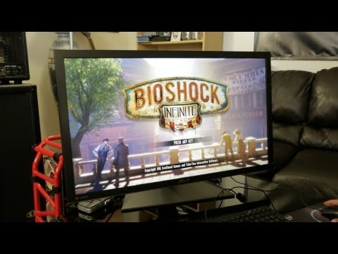 4K Ultra HD PC Gaming: Bioshock Infinite! (ASUS PQ321Q 4K 31.5-Inch Monitor)