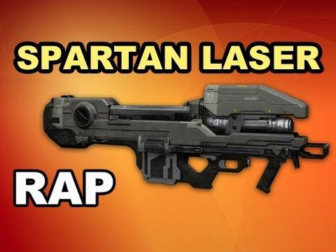 Spartan Laser Spartan Laser Rap Song Halo