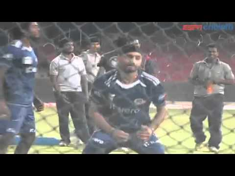 Harbhajan Singh - Press Conference, Mumbai Indians v Somerset