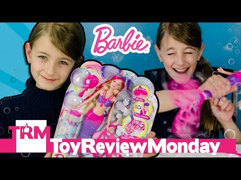 Barbie Bubble-Tastic Mermaid Doll Cute Fun Toy Video Review | Toy Review Monday by PLP TV