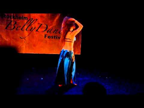 Amazing drum solo by Sadie at Stockholm bellydance festival...