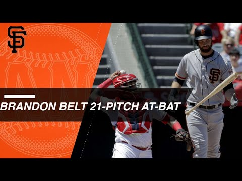 SF@LAA: Belt battles through 21-pitch AB vs. Barria