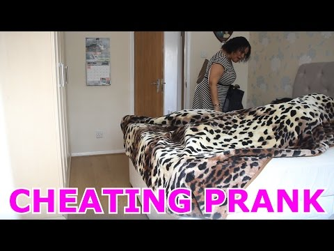 HUSBAND CHEATING ON WIFE PRANK