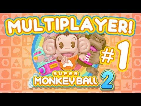 Super Monkey Ball 2 Multiplayer (Part 1) Monkey Target - TSR...
