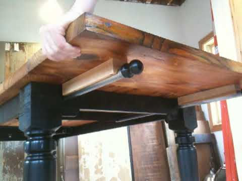 Dining Room Table Extension Design Youtube