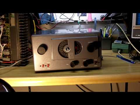 Hallicrafters S-38C Shortwave Radio Video