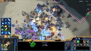Starcraft 2 - Arcade - DirectStrike - 3vs3 - Protoss - #98