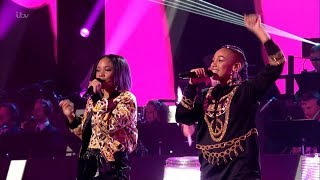 The X Factor UK 2018 Aaliyah & Acacia Live Shows Round 5 Full Clip S15E23