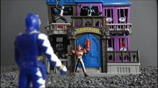 Power Rangers Dino Thunder Rescue hero Toys  in prison! 파워레인저 다이노썬더 감옥에 갇힌 히어로를 구하라! 장난감 놀이